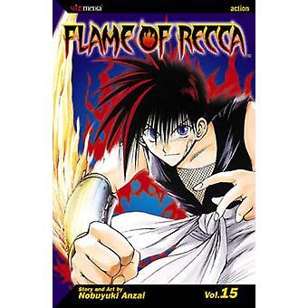 Flame of Recca Vol. 15 by Nobuyuki Anzai