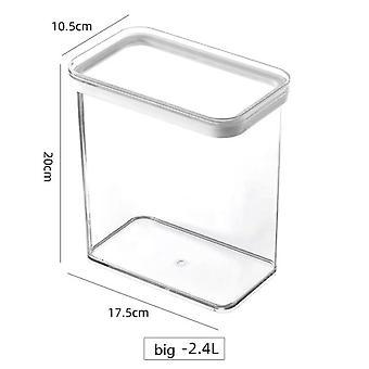 Organizer Drawer Basket Refrigerator Pull Out Drawers Fresh Spacer Layer Storage Rack(Transparent)