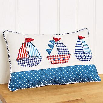 LAST FEW - Maritime Boat Cushion Sewing Craft Kit for Adults
