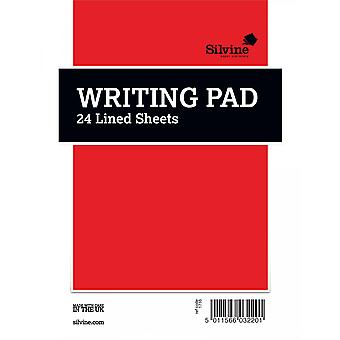 Silvine Ruled Notepad (Pack of 36)