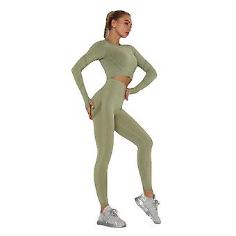 Yoga set sports suit women workout sports outfit fitness set wear