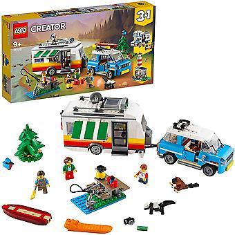 Lego Creator Wohnwagen Familienurlaub 31108
