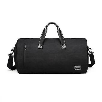 Fitness Bag Men's Suit Bag Dry And Wet Separation Bag Travel Folding Bag Portable Large-capacity