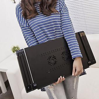 Portable 360 Degree Adjustable Foldable Aluminum Alloy Lazy Computer Laptop Desk