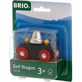 Brio 33749 Brio Bell Wagon - Jernbane av tre