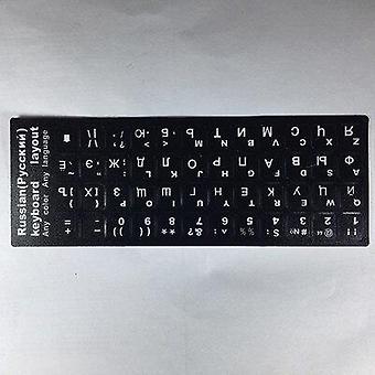 2Ks nálepky klávesnice ruské písmená klávesnice nálepky pre notebook počítač desktop