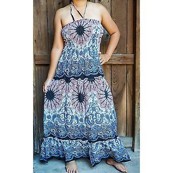 שמלת מקסי חוף קיץ