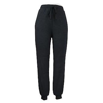 Modern Soul Women's Pants Jogger Drawstring Waist Pocket Black 689729