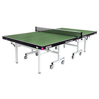 Butterfly National League 25 Rollaway Table Tennis Table Set - Green
