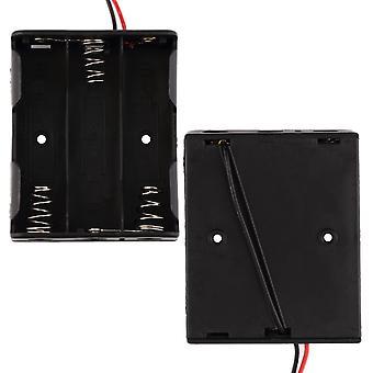 Держатель слота для батареи для 3 упаковок стандартных батарей Aa 1,5 В