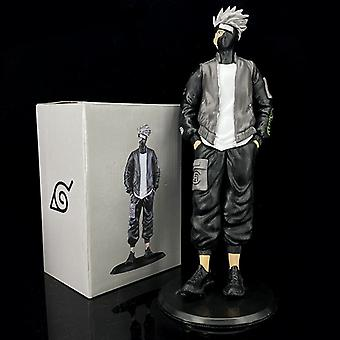 Naruto Tide Marke Anzug Tide Kleidung Kakashi Puppe Box stehend Kakashi Modell Dekoration Desktop Puppe