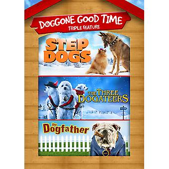 Stap honden / 3 Dogateers / Dogfather [DVD] USA import