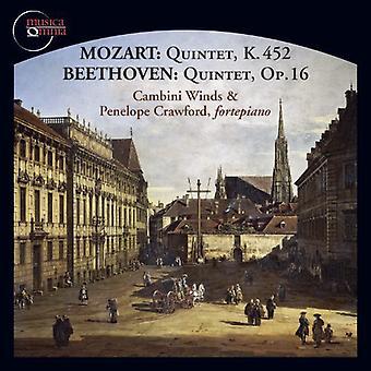 Mozart/Beethoven/Crawford/Vallon/Watkins - Mozart, Beethoven: Quintets [CD] USA import
