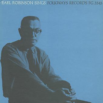 Earl Robinson - importación de Estados Unidos Earl Robinson Sings [CD]