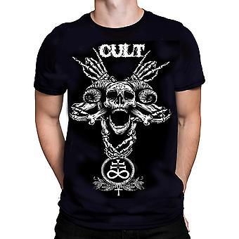 Wild star - pentagram cult - mens t-shirt - black - occult fashion