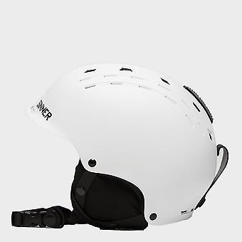 New Sinner Men's Pincher Snowsports Ski  Helmets Snowsports White