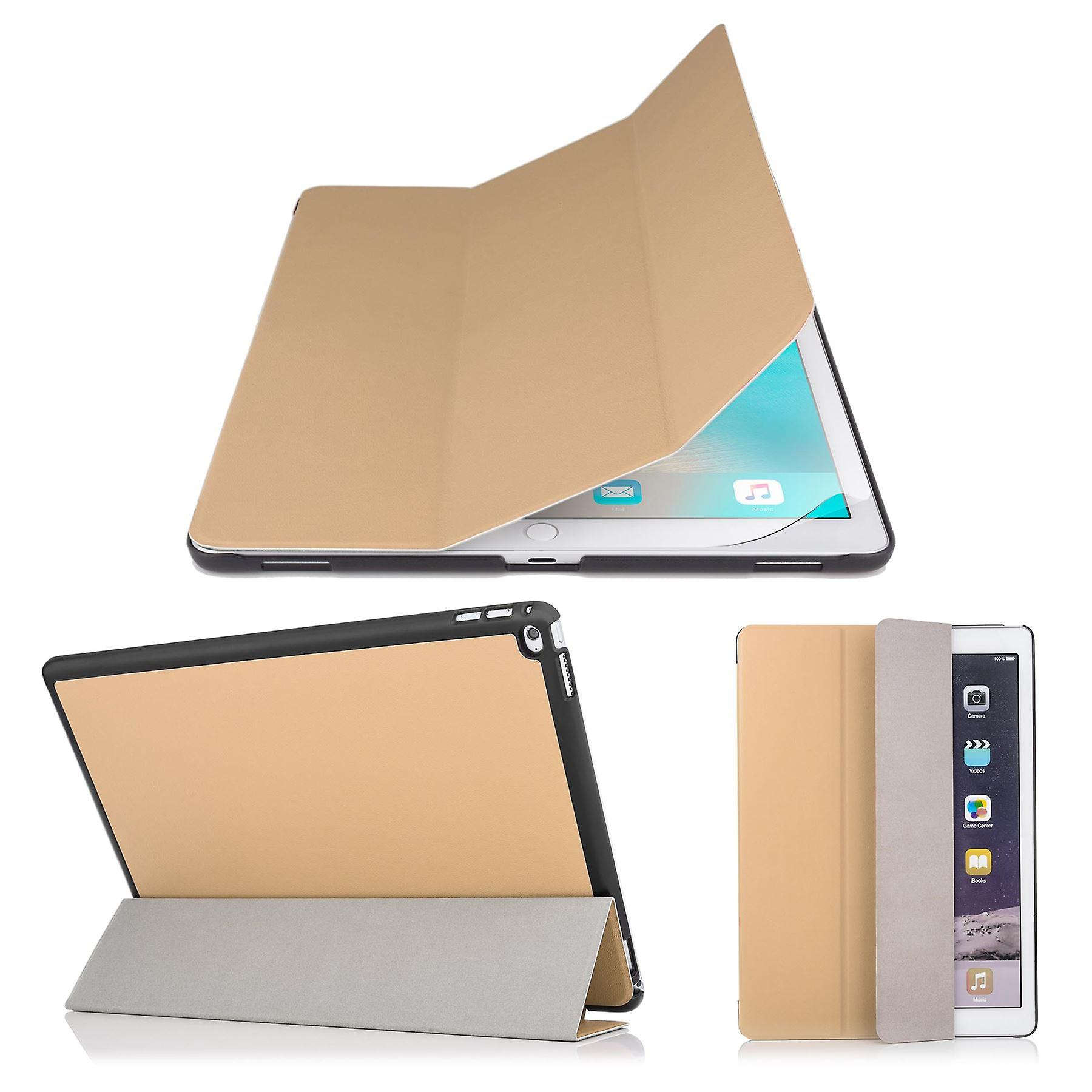 Smart Cover case + stylus for Apple iPad Pro 9.7 inch (2016) - Gold