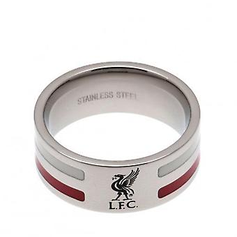 Liverpool farve stribe Ring Medium