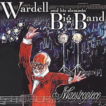 Wardell & His Slammin Big Band - Maestropiece [CD] USA import