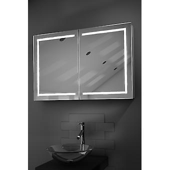 Lea LED badkamer kast met ontwasemer Pad, Sensor & scheerapparaat k374