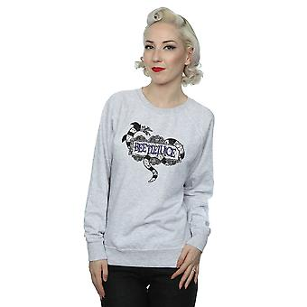 Beetlejuice Women's Sandworm Logo Sweatshirt