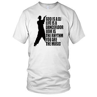 Dio è una DJ Breakdance Kids T-Shirt