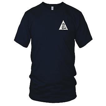 Piss på terrorister brodert Patch - Mens T-skjorte