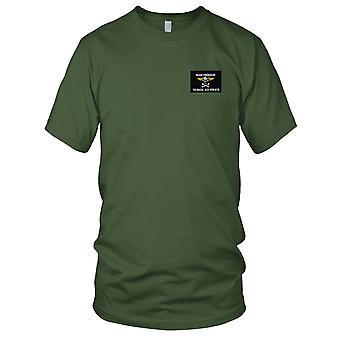 US Navy VF-84 haftowane Patch - OIF Yankee powietrznym piratem męskie T Shirt