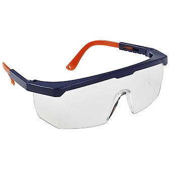 Portwest - Adjustable Contrast Coloured Safety Eye Screen Plus Spectacles