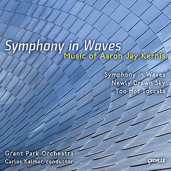 A.J. Kernis - Aaron Jay Kernis: Symphony in Waves [CD] USA import