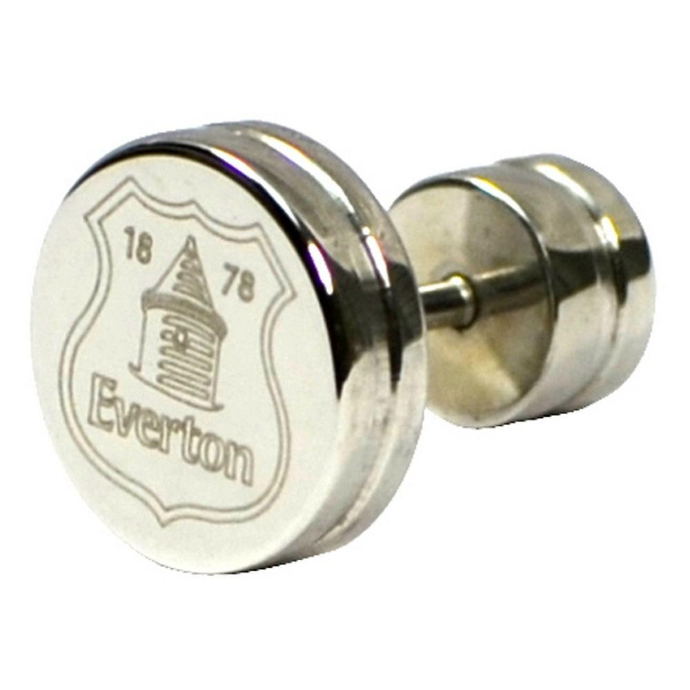 Everton FC Official Stainless Steel Football Crest Stud Earring