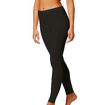 Mey 28965-3 Kvinnors svart färg fotled längd Leggings