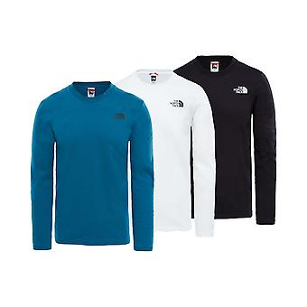 The North Face Mens Long Sleeve Easy Tee
