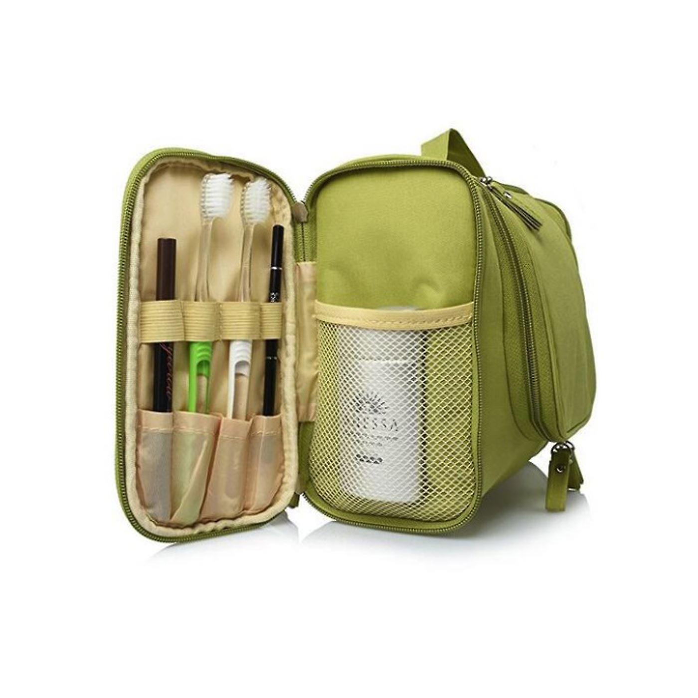 Deluxe Travel Bag kosmetiska göra upp necessär fall svart Wash Bag arrangören påse