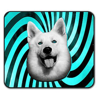 Cute Huskey Animal Dog  Non-Slip Mouse Mat Pad 24cm x 20cm | Wellcoda