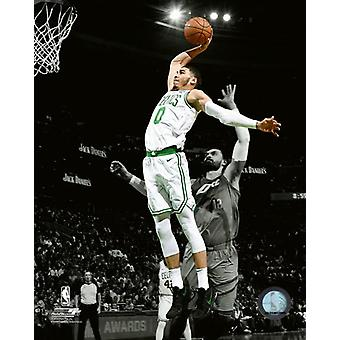 Jayson Tatum 2017-18 Spotlight Action Photo Print