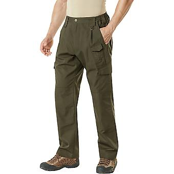 CQR TLP-105 Lightweight Ripstop EDC Tactical Assault Cargo Pants - Tundra