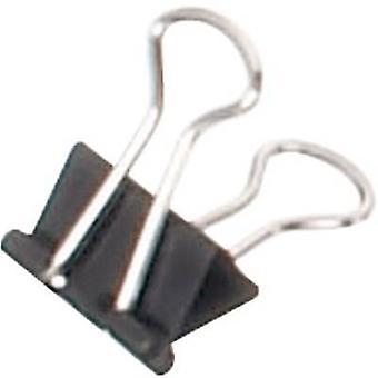 Brief clip 2151390 4 mm zwart 12 PC('s) Maul