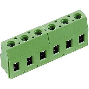 PTR 50710020201E Screw terminal 2.50 mm² Number of pins 2 Green 1 pc(s)