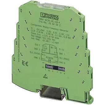 Phoenix İletişim 2864082 MINI MCR-SL-UI-F Yapılandırılabilir Analog Frekans Dönüştürücü İçerik: 1 adet(ler)