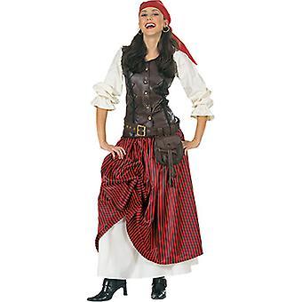 Luxury merirosvo naisten puku merirosvo morsian merenkulkija Carnival