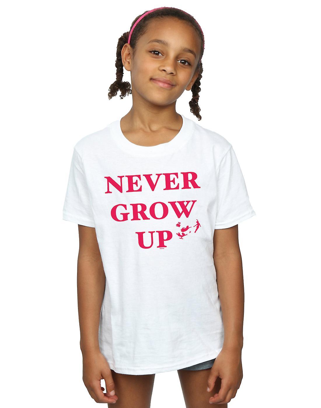 Disney Girls Peter Pan Never Grow Up T-Shirt
