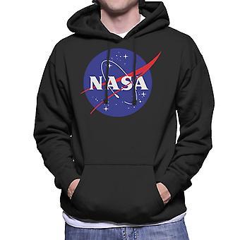 Sweat-shirt à capuche des insignes classique masculine de la NASA