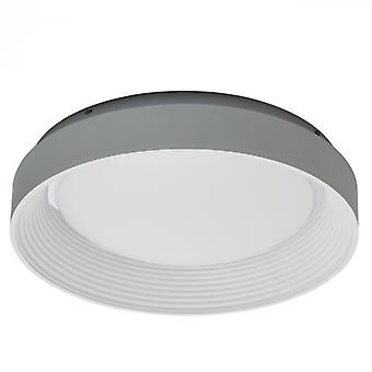 Techno wit plafondlamp