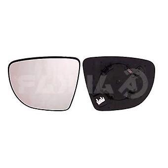 Levé zrcadlové sklo pro cestující (vyhřívané) a držák pro Renault CLIO Sporter 2013-2019