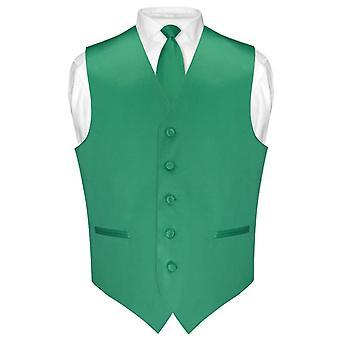 """Męskie sukienka kamizelka idealna Chude krawat kolor kryjący 2,5"""" szyi krawat zestaw dla garnitur lub Smoking"""