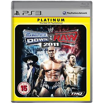 WWE Smackdown vs Raw 2011 - Platinum Edition (PS3) - Factory Sealed