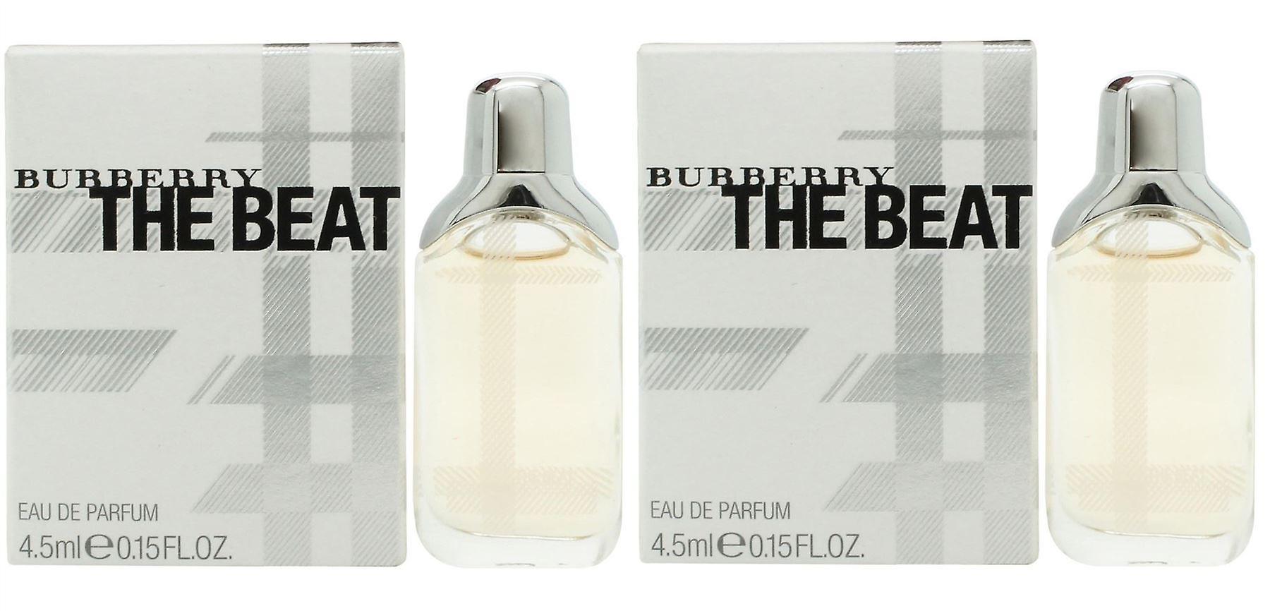 Burberry femmes Womens l'EDP Beat parfum 4,5 ml Mini Twin Pack