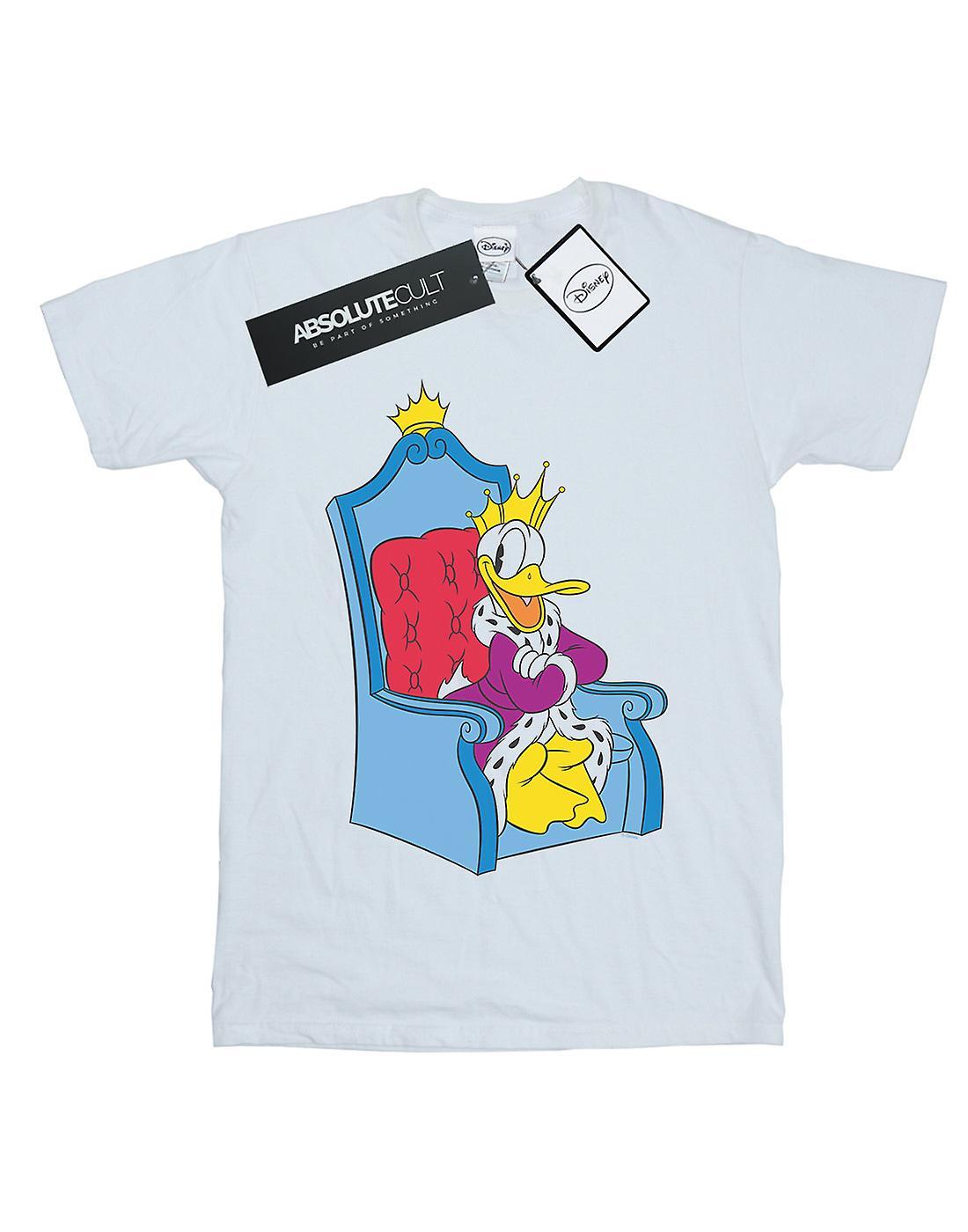 Disney Girls Donald Duck King Donald T-Shirt