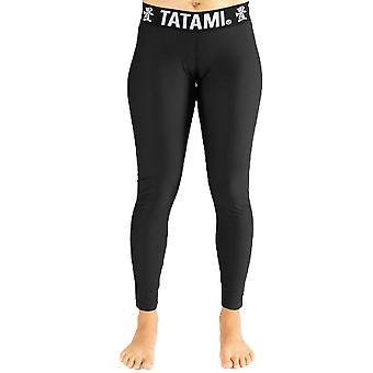 Tatami Fightwear Ladies nero Minimal ghette